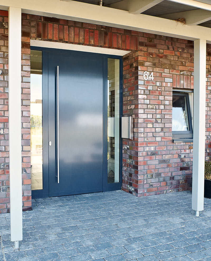 Hbi Windows And Doors Security Front Doors In Aluminum